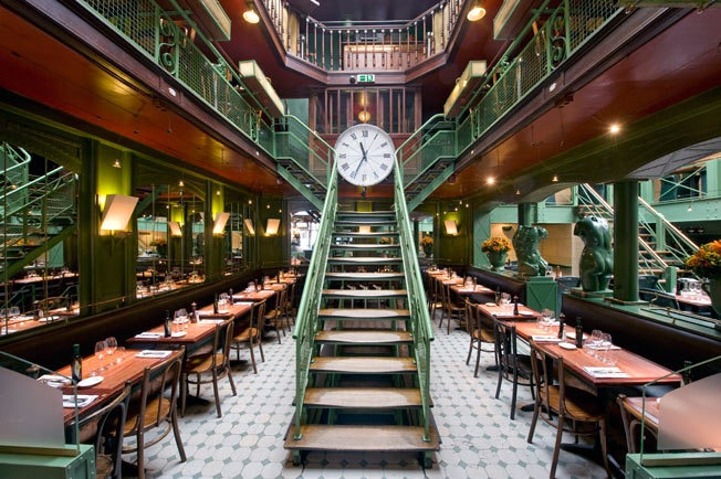 La Quincaillerie restaurant, Brussels. I've eaten here and it was amazing.