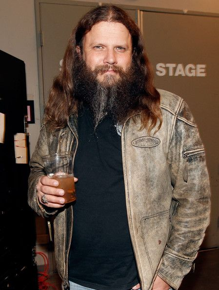 Jamey Johnson poses backstage during VH1's ...
