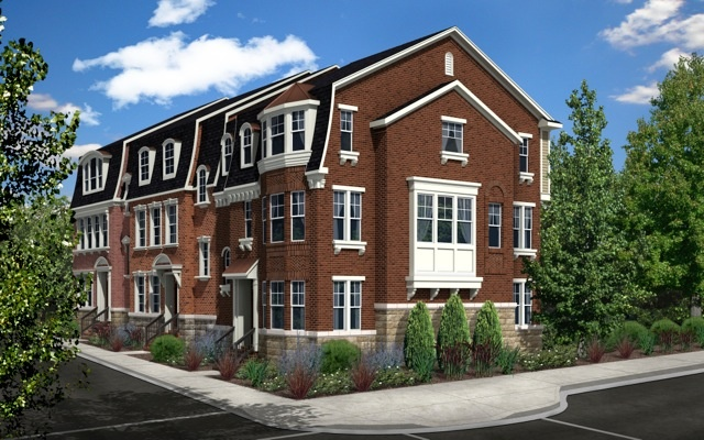 Rendering Of The Townhomes That Will Be Coming To Crown