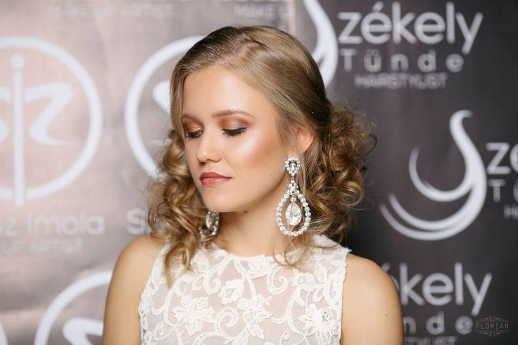 Gown: Emily's Boutique; Makeup: Imola Szasz; Hair: Tunde Szekely; Photo credit: Nagy Florian Photography; Model: Daczo Hilda;