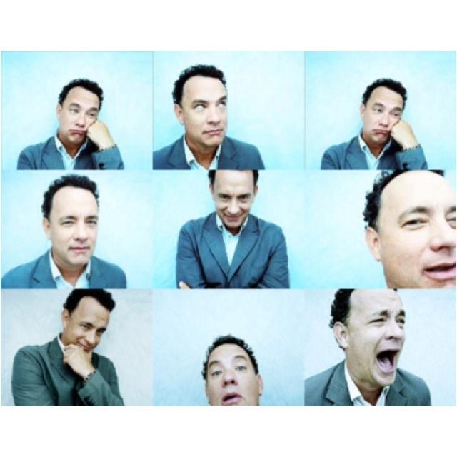 Tom Hanks.. I Love Tom Hanks :)