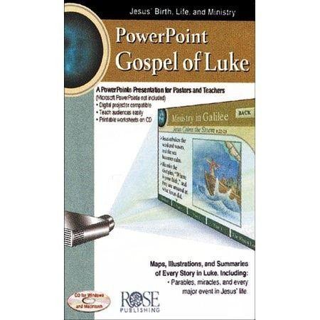 Gospel of Luke: PowerPoint CD-ROM