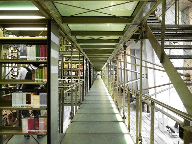 Biblioteca Vasconcelos, México DF.