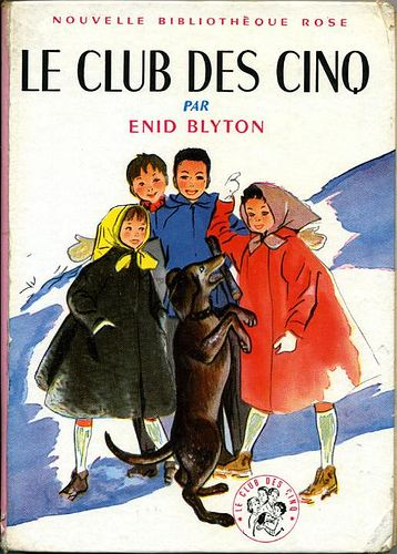 Le Club des Cinq by, Enid BLYTON..j'ai lue tous ces livres..comme j'aimais ces beaux livres...