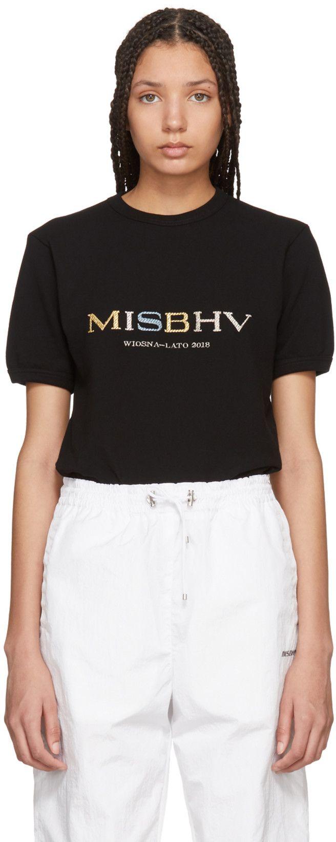 8b798de3 MISBHV - Black Souvenir T-Shirt | ✰fashion killer✰ | Shirts, T ...
