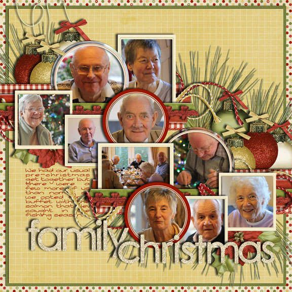 Lots of small photos--this lo is xmas theme but might be able to adapt for other ideas.