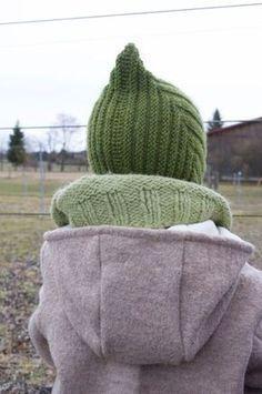 Gestrickte Mütze für die kalten Tage – Anleitung zum Stricken einer Zwergenm…