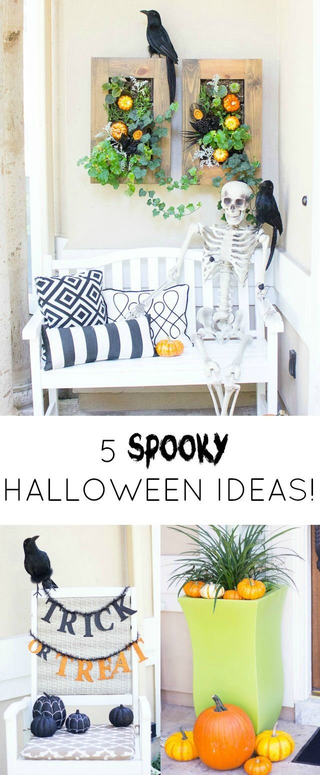 25 Best Ideas About Halloween Front Porches On Pinterest Halloween Porch Decorations Outdoor