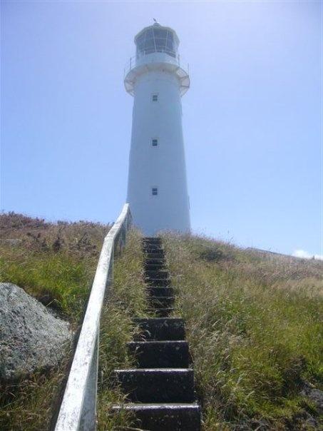 Cape Egmont Lighthouse, Taranaki  (First light 1881)