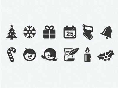 Christmas Icons by Scott Dunlap
