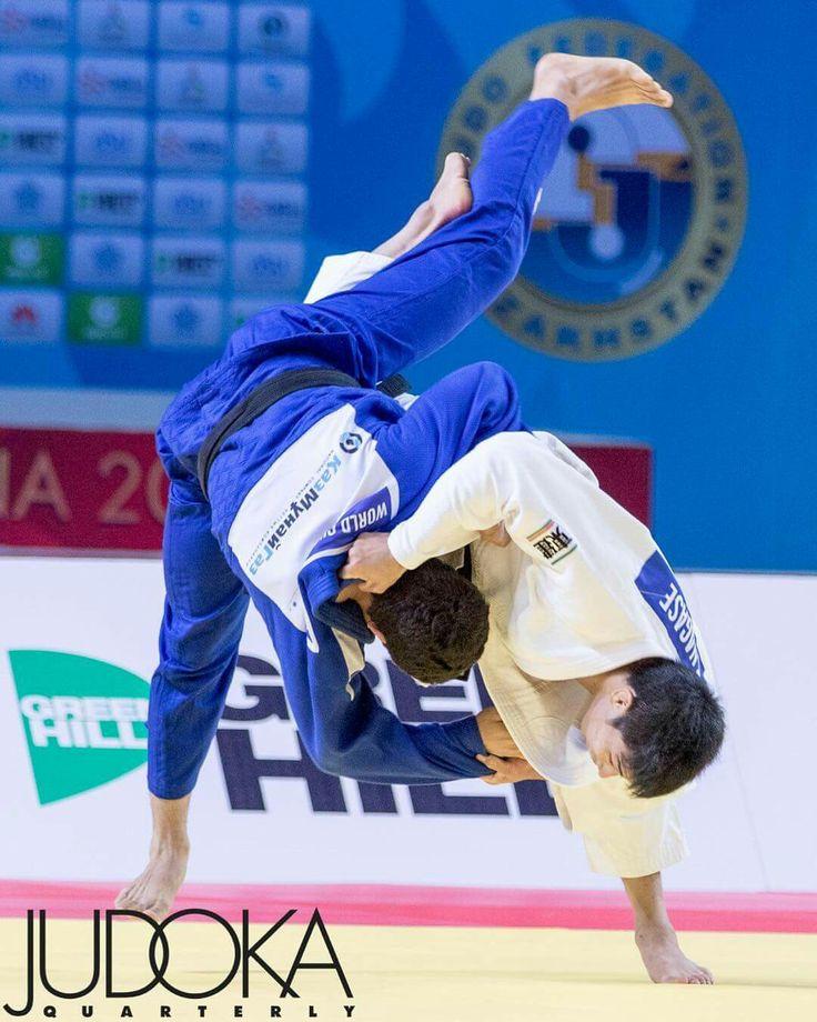 Nagase with a uchi mata judo jujitsu martial arts