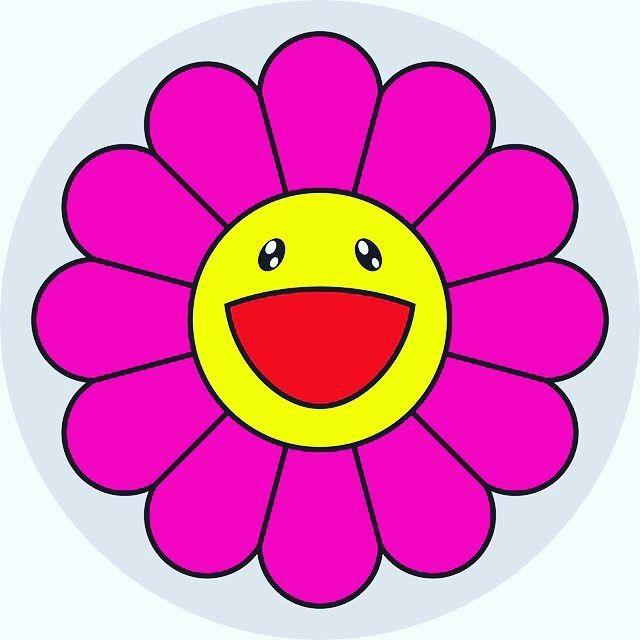 #flowerofjoy #takashimurakami #magenta