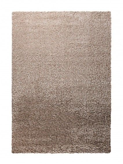 Tapis à poils longs Cosy Glamour Beige 80x150 cm
