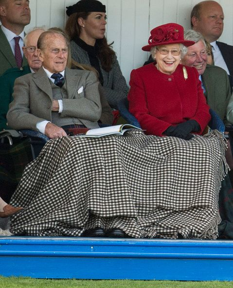 Royal Family Around the World: Members of the Royal family Attend The 2015 Braemar Highland Gathering on September 5, 2015 in Braemar, Scotland.