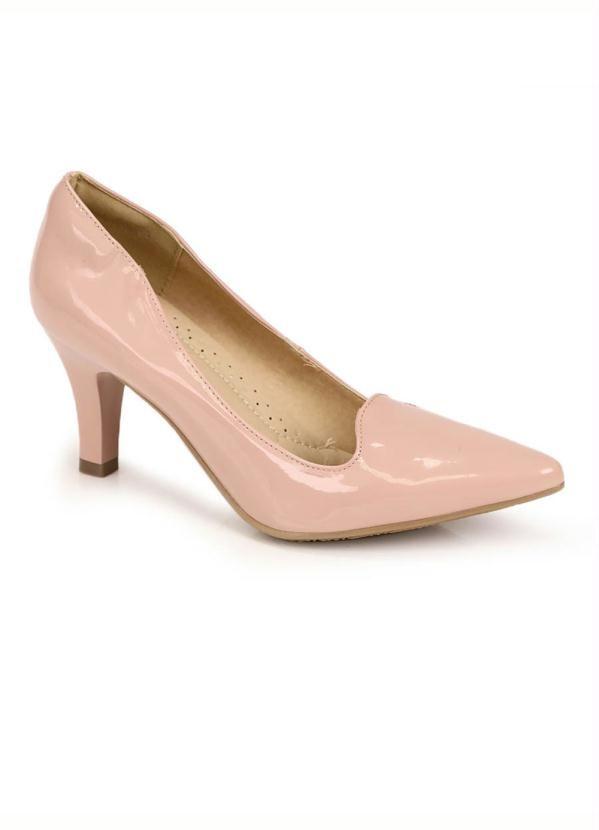 Scarpin Facinelli Nude Shoe   – Products