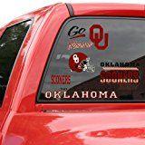 Oklahoma Sooners Window Clings