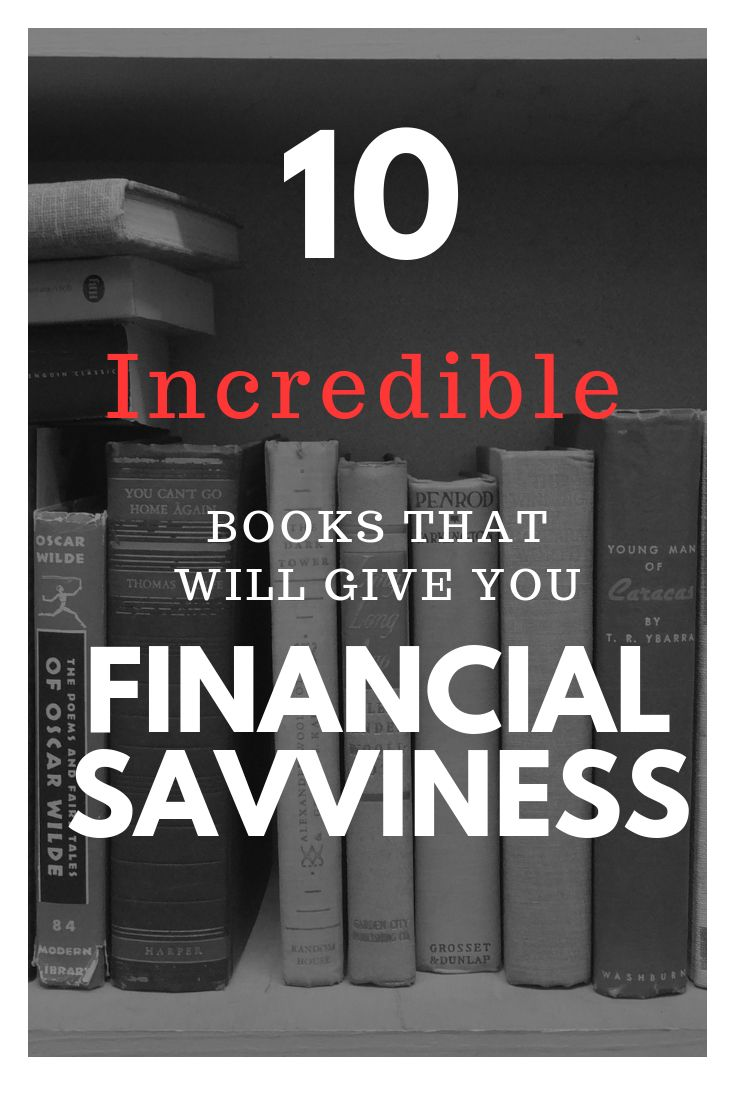 10 books to increase your financial knowledge