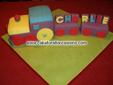 Cake T024 :: Toddler's Birthday Cakes :: Birthday Cakes :: Cake Library - Cake for all Occasions