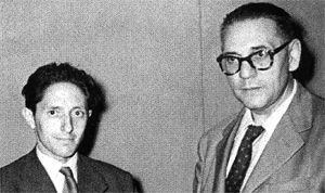 Isaac Diaz Pardo y Luis Seoane, desde el exílio.