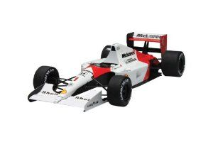 1/20 Scale Model F1 McLaren Honda MP4/6 Spain Grand Prix 1991 Construction Kit by Fujimi. $104.23. Weight: 421g. Size: 34.8 x 20.4 x 5.7 cm. Grand Prix Series. February 2011 Release. 1/20 Scale Model Construction Kit. The McLaren Honda MP4/6 from 1991 Spanish Grand Prix. This machine won eight grand prix races in its career and the kit features fantastic detailed engine and body. Also included is a photo-etched metal detail set for the seatbelts, and a helpful pre-marked self...