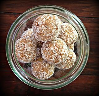 A Fresh Approach: Lemon and coconut truffles
