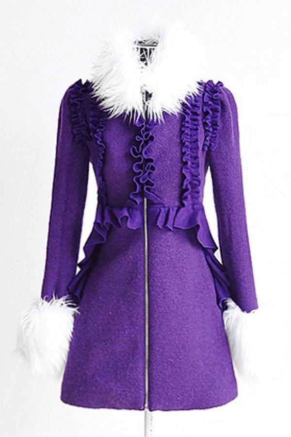 105 best Coats images on Pinterest | Purple coat, Leather jackets ...