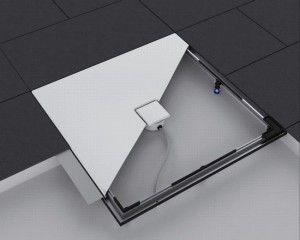 Rama montażowa ESR II  umożliwia precyzyjny montaż emaliowanych powierzchni prysznicowych Kaldewei