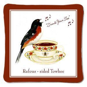 Drink Your Tea Tea Cup Spiced Mug and Tea Cup Mat
