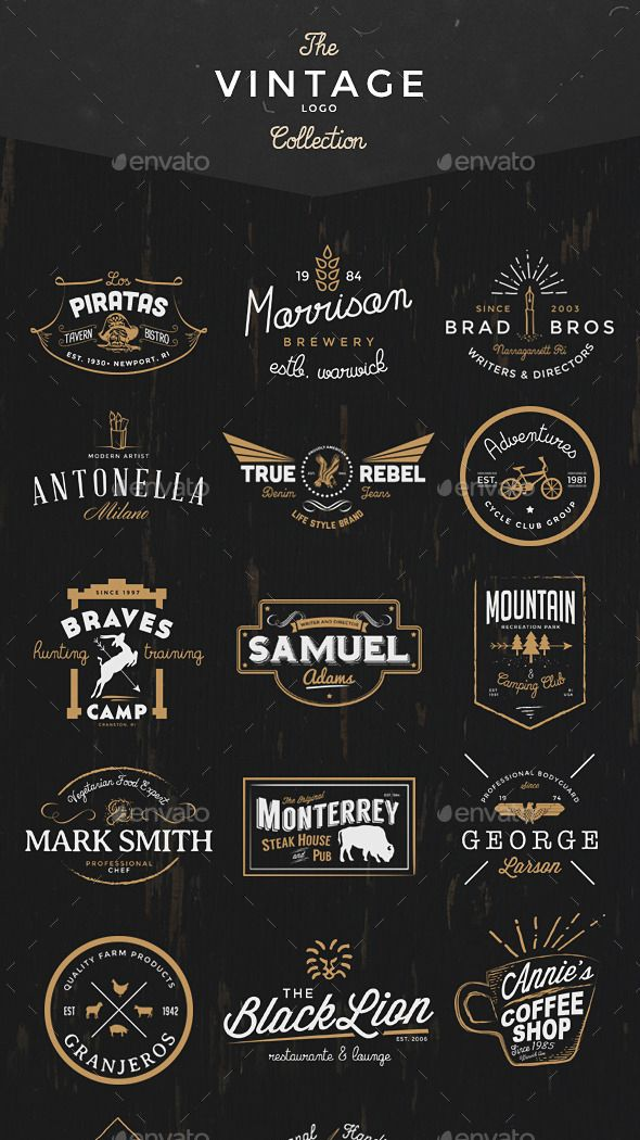 the-vintage-logo-badge-collection