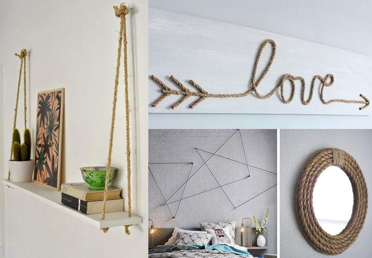 dekorácie z lana