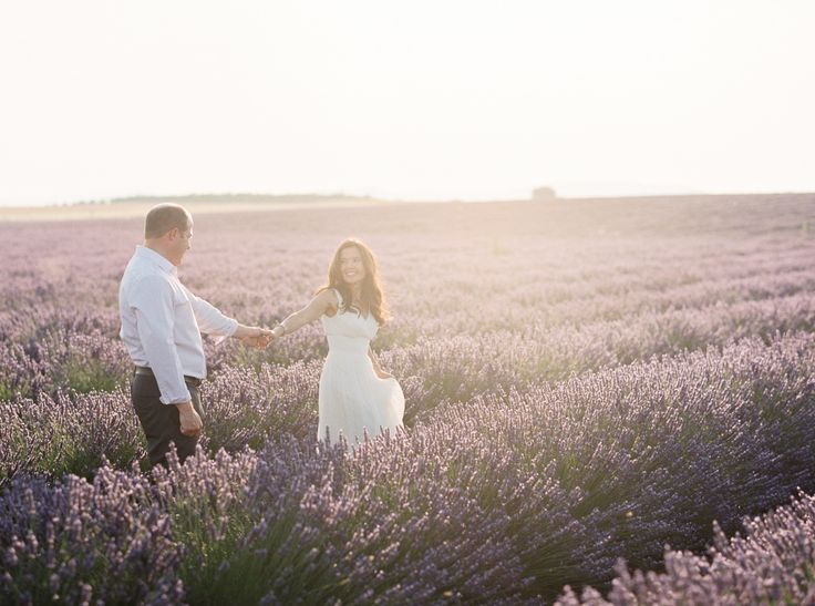 In the lavender fields: http://www.stylemepretty.com/destination-weddings/2015/09/10/romantic-anniversary-in-provence/ | Photography: Gert Huygaerts - http://gerthuygaerts.com/