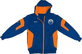 Reebok Edmonton Oilers Youth (8-20) Full Zip Performance Hooded Sweatshirt - Shop.Canada.NHL.com