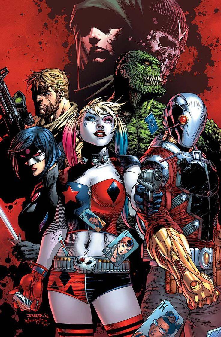 """Suicide_Squad_8LA VAULT NEGRA"""" parte ocho!  Harley Quinn va sano!  Los prisioneros y el personal de la Penitenciaría Belle Reve han sucumbido a los devastadores efectos de la Bóveda Negra del General Zod, haciéndolos locos.  Pero tiene el efecto opuesto en Harley, que debe luchar su camino a través de un loco Suicide Squad-con la ayuda de la Enchantress-para detener Zod de despertar y conquistar el mundo.  Sin presión, ¿verdad?  Y en una historia de bonificación de copia de seguridad…"""
