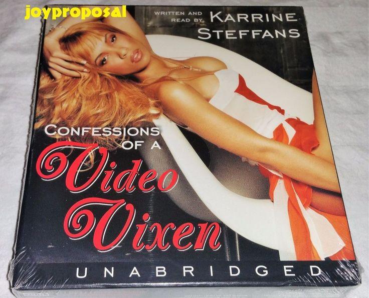 Confessions of a Video Vixen by Karrine Steffans / Karen Hunter Unabridged CDs