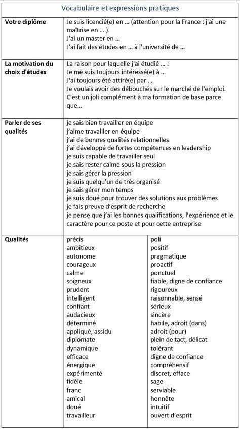 plus de 25 idées uniques dans la catégorie cv en francais exemple