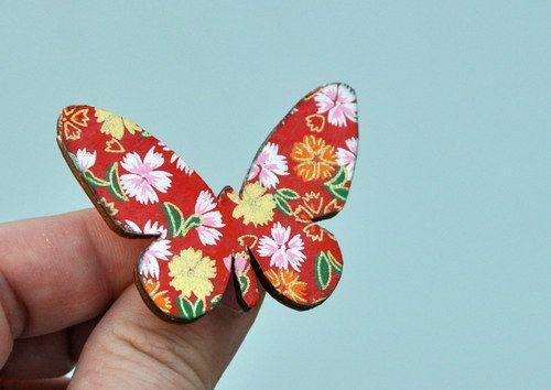 Motýlek origami no 7