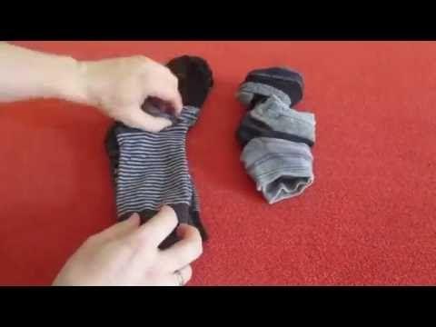 Лайфхак: складываем вещи правильно | Ярмарка Мастеров - YouTube