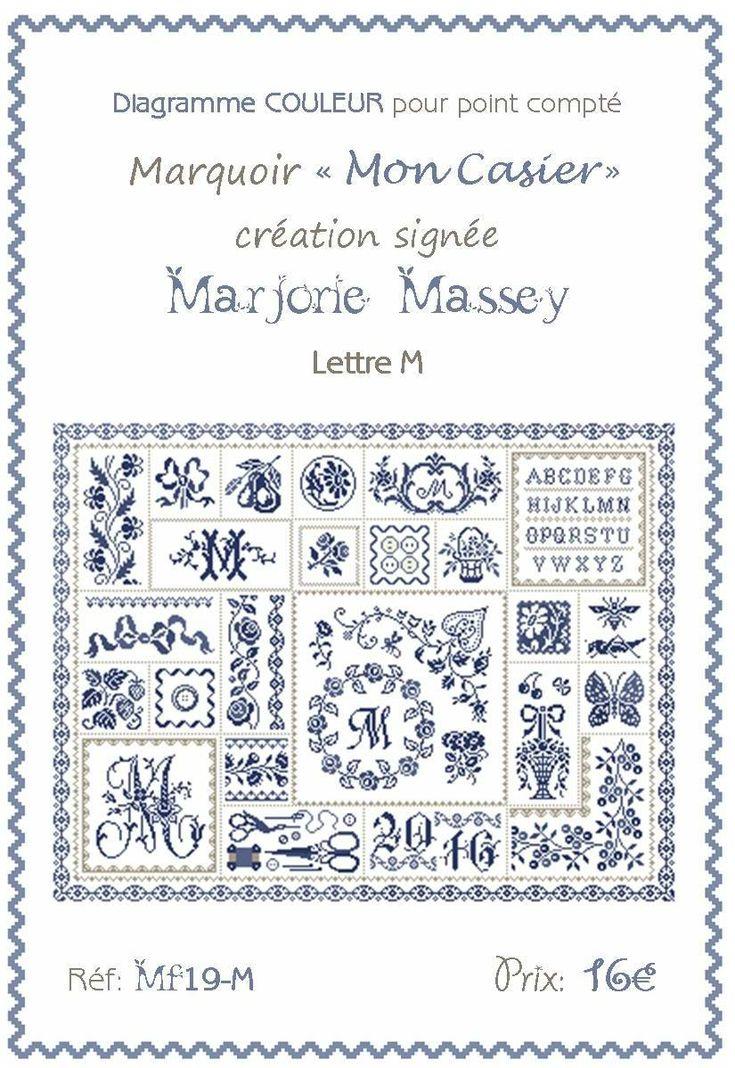 MF19 - Casier imprimeur lettre M