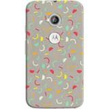 Phone Case: (Moto E 2nd Generation) Red Confetti | DailyObjects