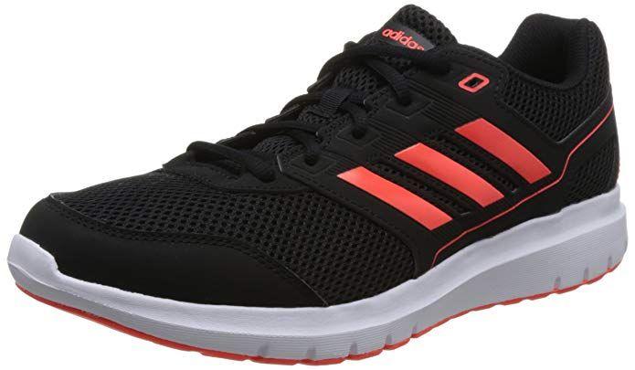 Adidas Duramo Lite 2 0 Sneakers Herren Schwarz Mit Orangen Streifen Slip On Schuhe Adidas Schwarze Schuhe