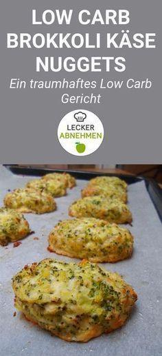 Leckere Brokkoli-Käse-Nuggets (Low Carb)   – Snacks