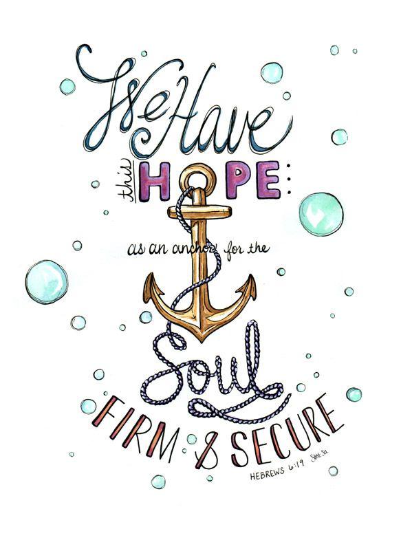 Hebrews 6:19 by Shannon Sutton