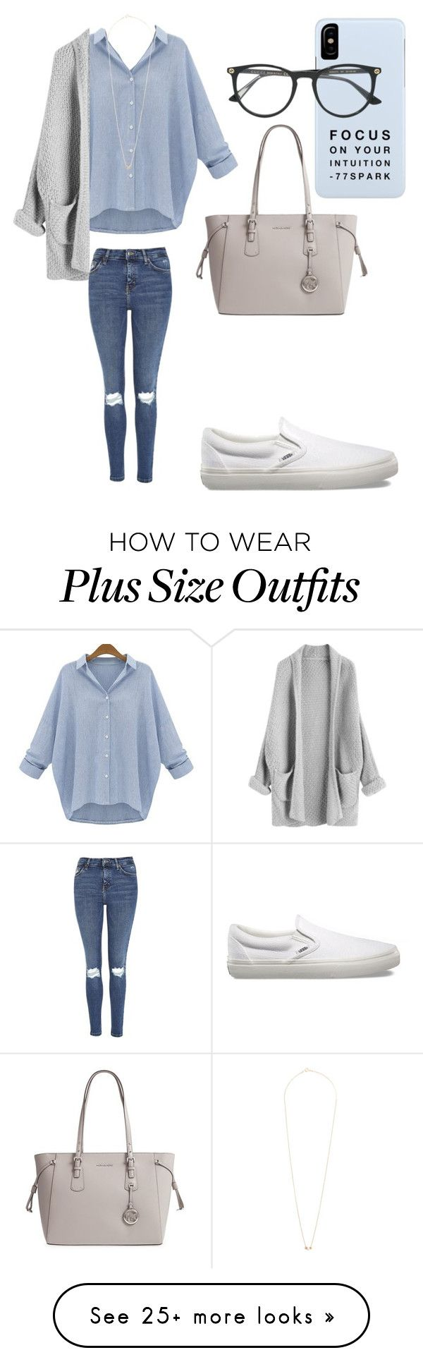 """Focus on your Intuition"" by sarahfohlen on Polyvore featuring Topshop, Vans, Michael Kors, Gucci, Dogeared, Fall and 2k17"