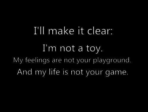 i'm not playing games quotes - Google Search