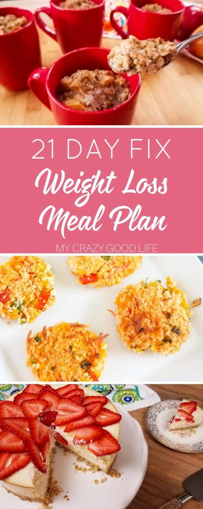 21 Day Fix Weight Loss Meal Plan