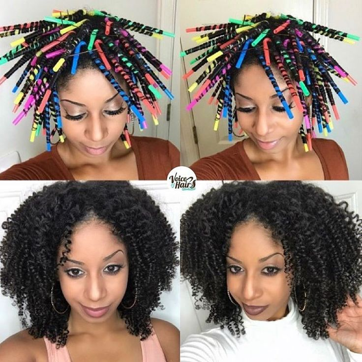 Love these tight curls on @thelovelygrace achieved using a straw set➰ Check out her simple step by step #hairtutorial on VoiceOfHair.com#voiceofhair========================== Go to VoiceOfHair.com ========================= Find hairstyles and hair tips! =========================
