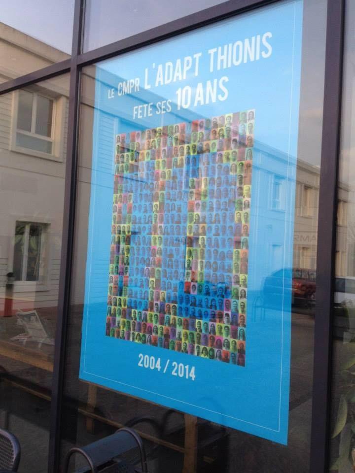 Une affiche Grand Format réalisée par notre Agence de Moselle !