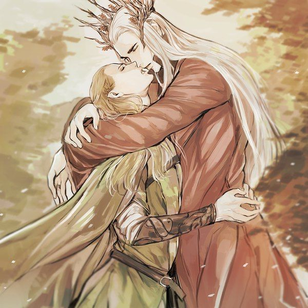 thranduil and elrond slash wwwpixsharkcom images