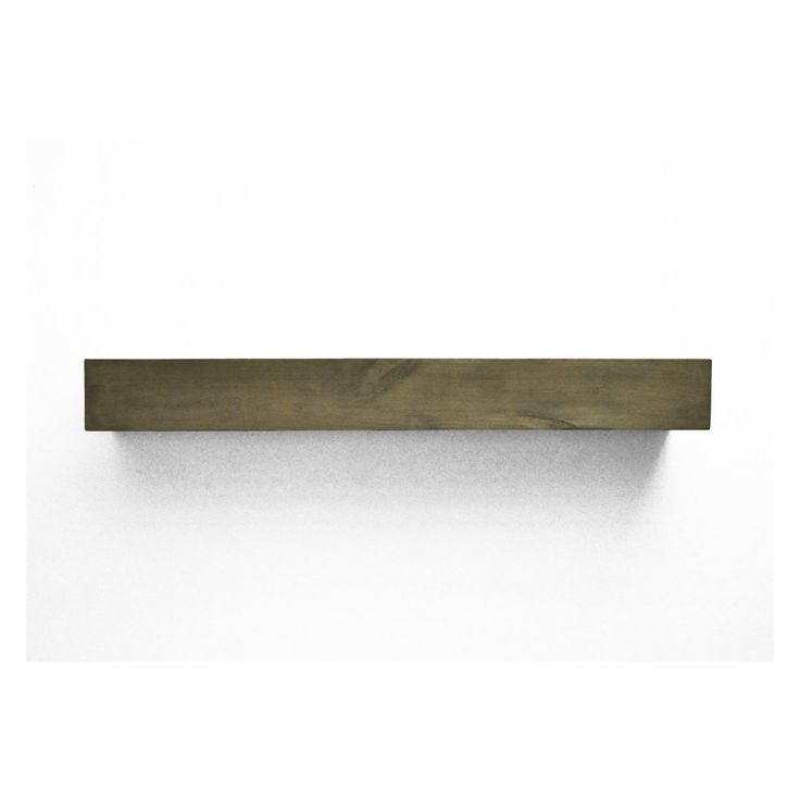 Dogberry Collections Farmhouse Fireplace Mantel Shelf - The Dogberry Collections Farmhouse Fireplace Mantel Shelf fuses elegant chic and rustic elements for the perfect look. Handcrafted here in the USA from...