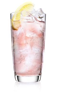 DRINK INGREDIENTS: 1 part (50 ml) MALIBU 3/5 parts (30 ml) cranberry juice 1 ½ parts (70 ml) lemon soda  HOW TO MIX THE DRINK: Pour the ingredients in an ice-filled highball glass and stir. Garnish with lemon.